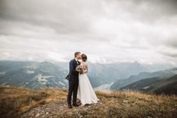 Paarfoto Hochzeit in den Bergen bei München mit Anni's Art Fotografie, Hochzeitsfotograf Ingolstadt